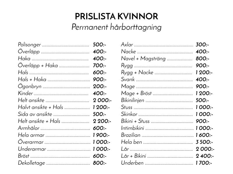 pris-kvinnor